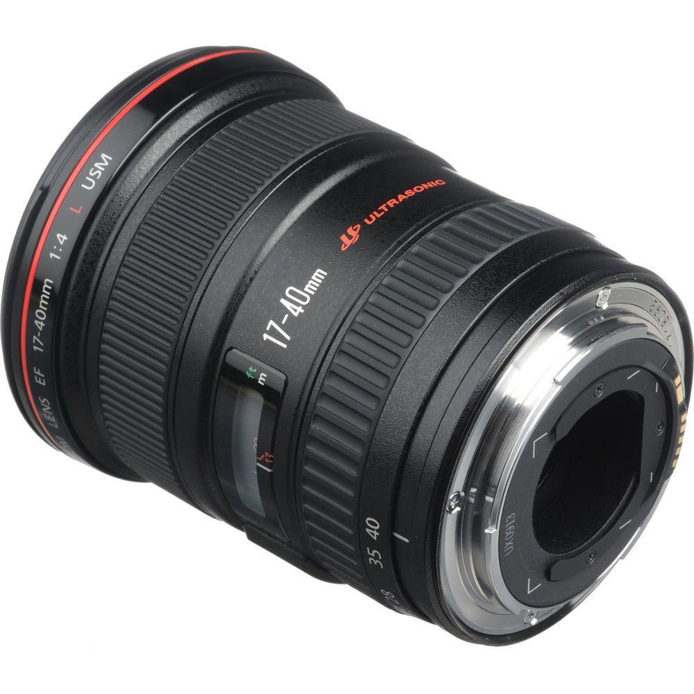 Canon Ef 17 40mm F 4 0l Usm Digital Camcorder Slr Digital